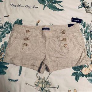 Express NWT Sailor Style Shorts